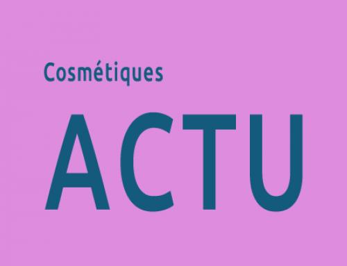 Nouvelles réglementaires secteur cosmétique février 2016