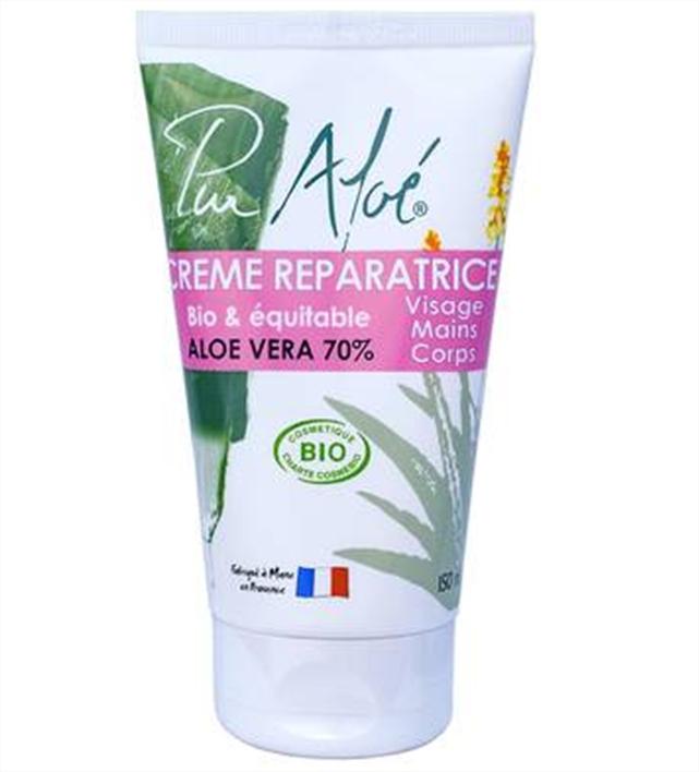 Crème réparatrice Aloe Vera PUR ALOE