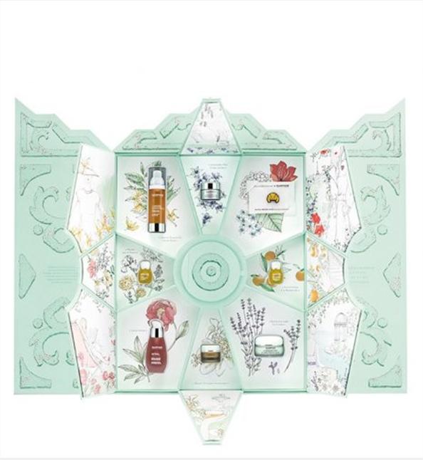 Coffre parfums cosmetiques Jardin à la francaise Knoll Prestige - Packaging
